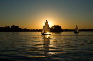Sailboats-sailing-at-dawn-300x199 Venture Checking