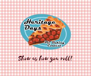 Heritage Days Pie Baking Contest