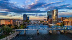 Downtown Grand Rapids Landscape