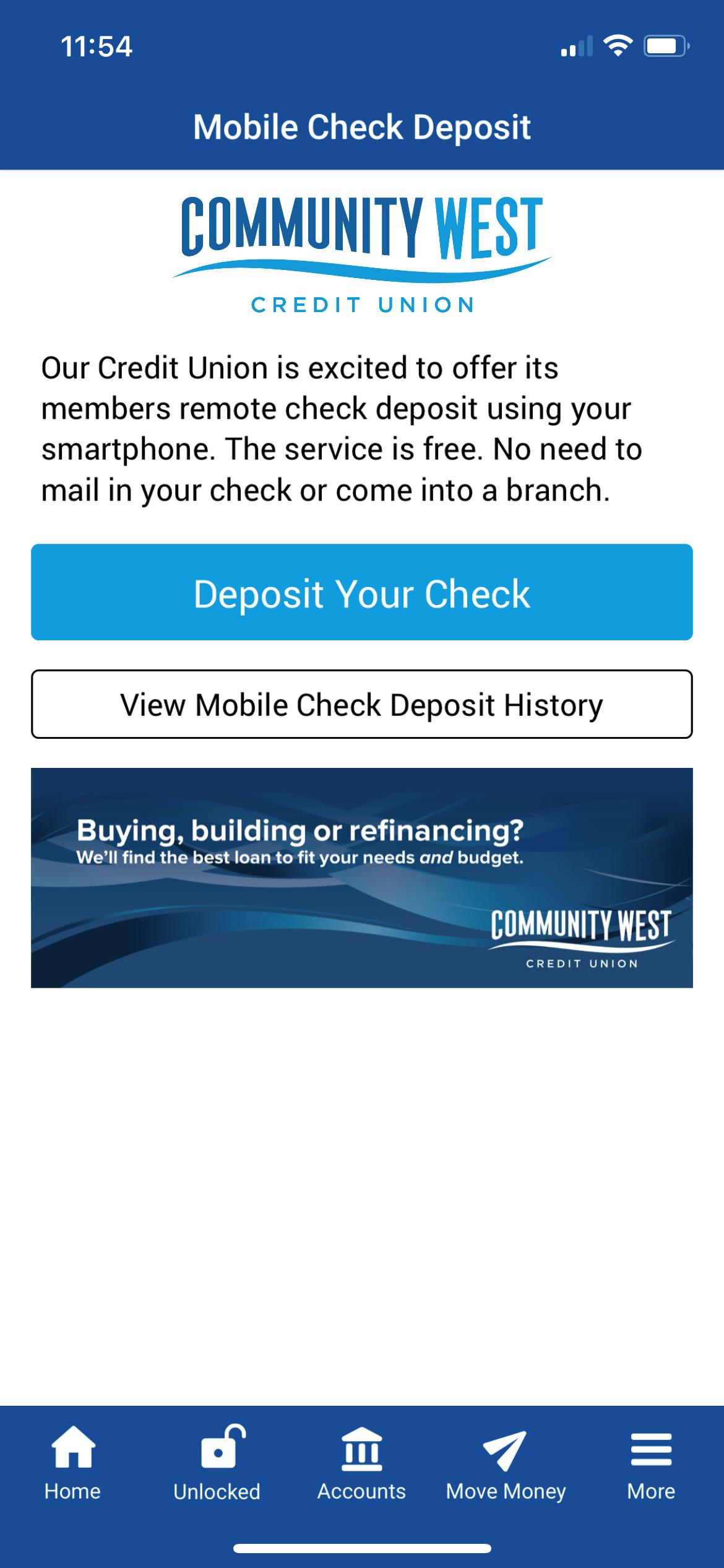 Check-Deposit
